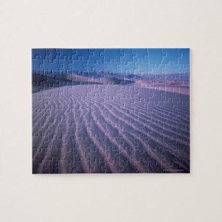 Sand Dunes in Desert Jigsaw Puzzle