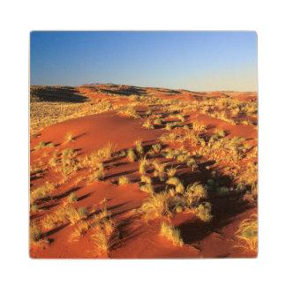 Sand Dunes In Desert, Namibrand Nature Reserve Wood Coaster