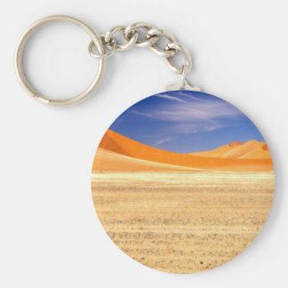 Sand dunes of Namibia Key Ring