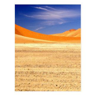 Sand dunes of Namibia Postcard