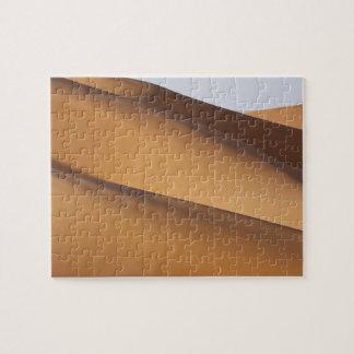 Sand dunes, Sahara desert, Morocco 2 Jigsaw Puzzle
