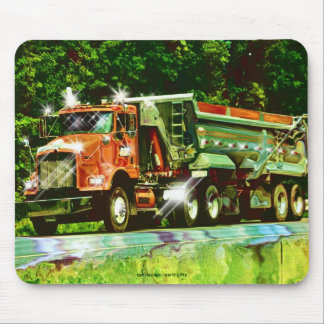 Sand & Gravel Lorry, Truck Drivers Mousepad