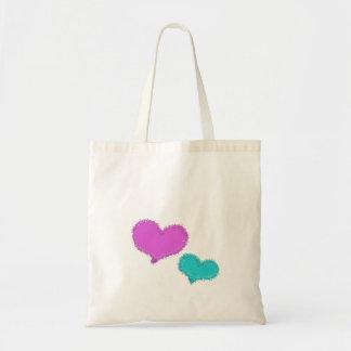 Sand Hearts tote bag