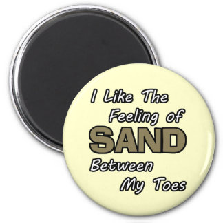Sand in Toes Magnet