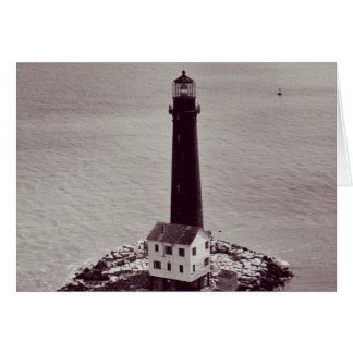 Sand Island Lighthouse Card