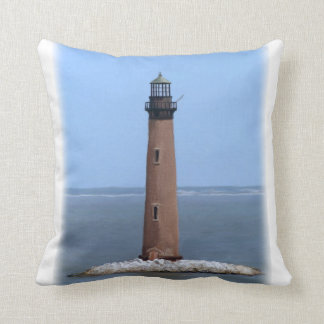 sand island lighthouse cushion