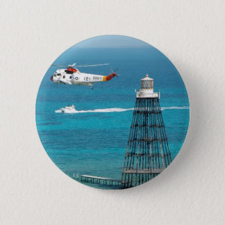 Sand Key Lighthouse 6 Cm Round Badge
