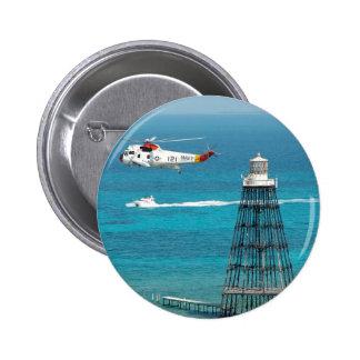 Sand Key Lighthouse 6 Cm Round Badge
