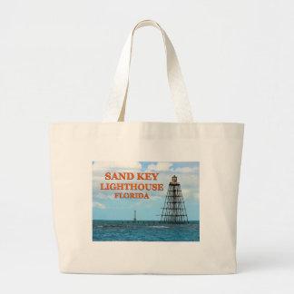 Sand Key Lighthouse, Florida Jumbo Tote Bag