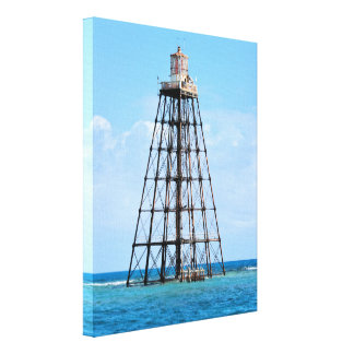 Sand Key Lighthouse, Florida Wrapped Canvas Print