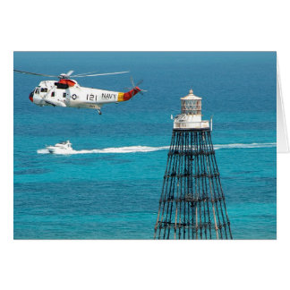 Sand Key Lighthouse Greeting Card