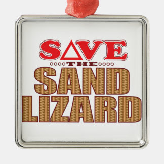 Sand Lizard Save Christmas Ornament