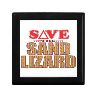 Sand Lizard Save Gift Box