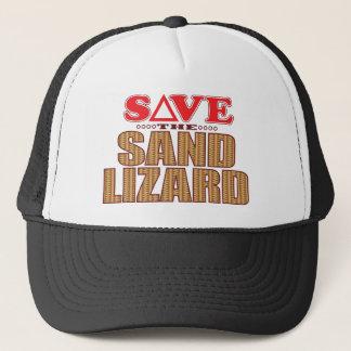 Sand Lizard Save Trucker Hat