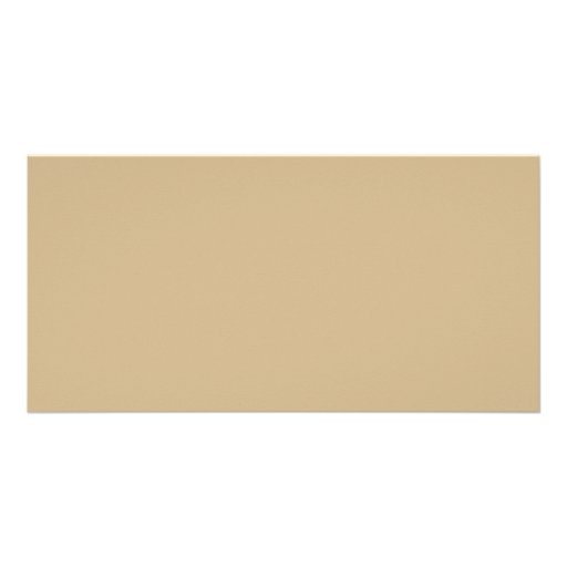 Sand Neutral Beige Pink Color Trend Blank Template Personalized Photo Card