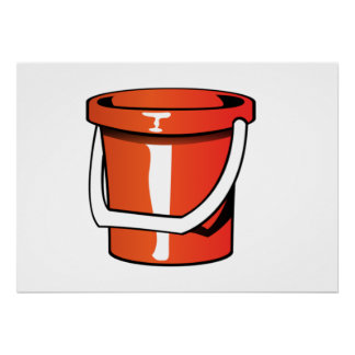 Sand Pail Bucket Posters