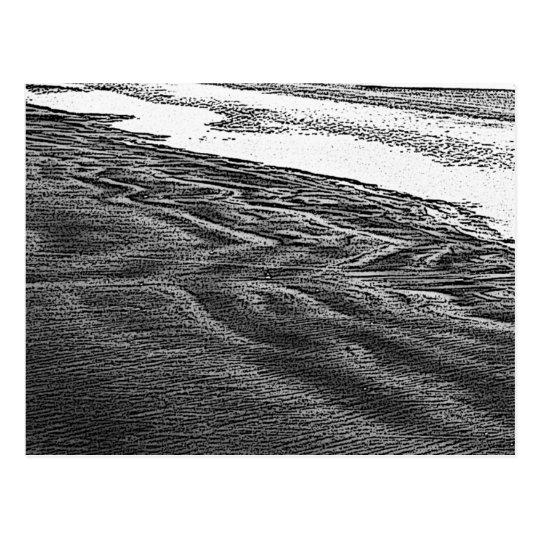 Sand Patterns_01 Postcard