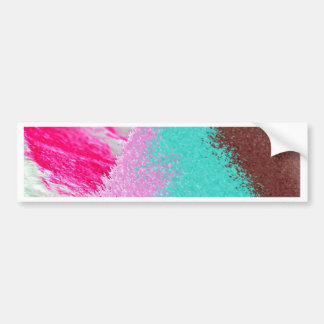 sand pink brown bumper stickers