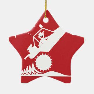 SAND RAIL WHEELIE signs Christmas Ornament