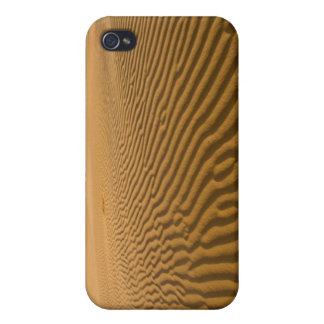 Sand ripples and dunes at Coral Pink Sand 2 iPhone 4 Cases