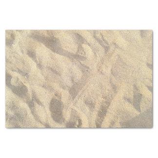 Sand scrapbook tissue paper