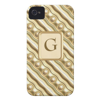 Sand Shimmer Lace iPhone 4 Case-Mate Cases