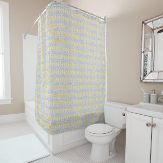 Sand & Sky-Lite-Beige-Blue_Contemporary-Bath-Decor Shower Curtain