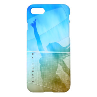Sand surf and sky women's beach volleyball iPhone 8/7 case