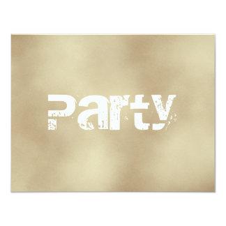 Sand, Teen Boys Party Invitations