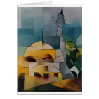 Sand Tower Greeting Card