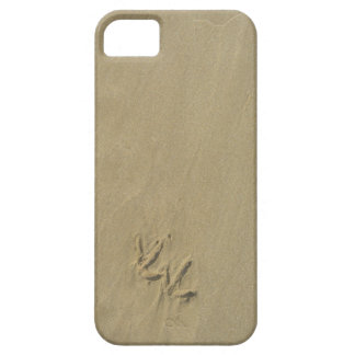 Sand with seagull footprints iPhone 5 cover