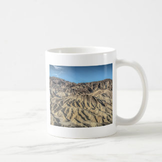 sand zabriskie mointains Death valley california p Basic White Mug