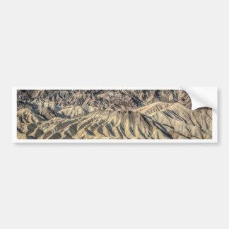 sand zabriskie mointains Death valley california p Bumper Sticker