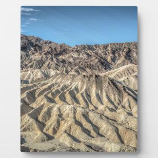 sand zabriskie mointains Death valley california p Photo Plaques