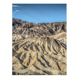 sand zabriskie mointains Death valley california p Postcard