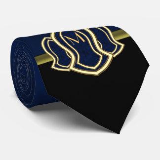 Sandal Of The Prophet (Blue) Marble & Gold Tie