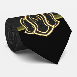 Sandal Of The Prophet (Grey) Marble & Gold Tie