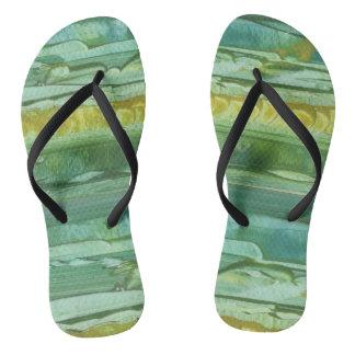 SANDAL, SLIPPER, FOOTWEAR MODERN ART BRAZIL FLIP FLOPS