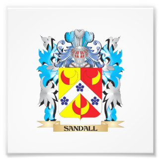 Sandall Coat of Arms - Family Crest Photograph