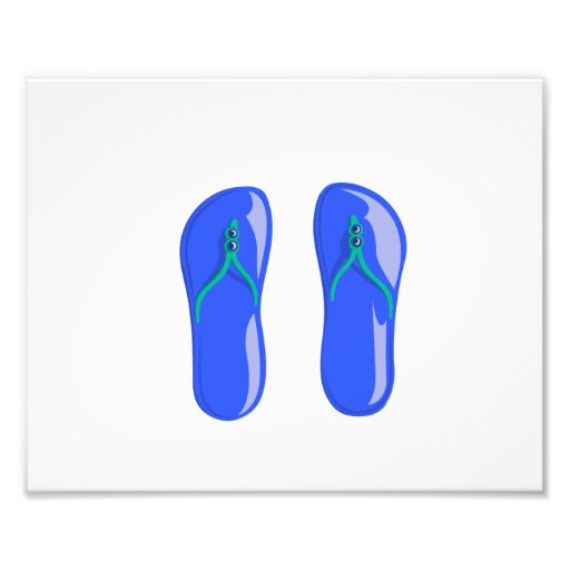 sandals blue beaded strap.png art photo
