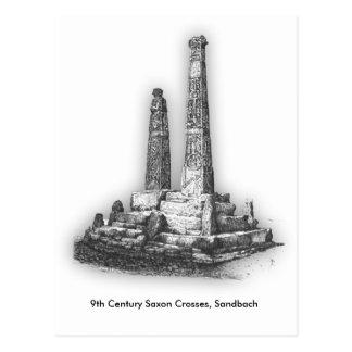 Sandbach Crosses Postcode Postcard