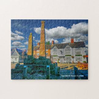 "Sandbach Saxon Crosses 252 pc Jigsaw Puzzle 11x14"""