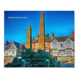 Sandbach Saxon Crosses Photo Paper (Kodak, Satin)