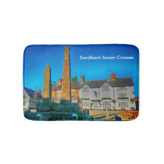 Sandbach Saxon Crosses Small Bath Mat Bath Mats