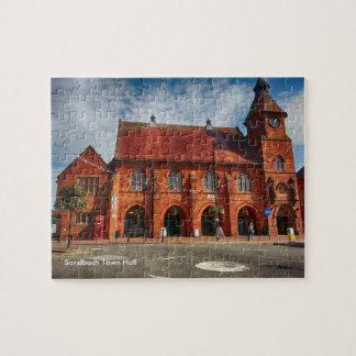 "Sandbach Town Hall 110 pcs Jigsaw Puzzle 8 x 10"""