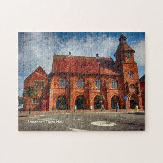 "Sandbach Town Hall 252 pcs Jigsaw Puzzle 11"" x 14"""
