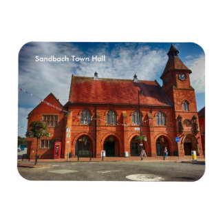 "Sandbach Town Hall 3""x4"" Photo Magnet"