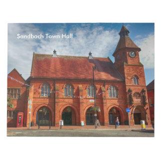 "Sandbach Town Hall Notepad 40 pg 11"" x 8.5"""