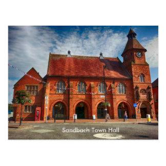 Sandbach Town Hall Postcard