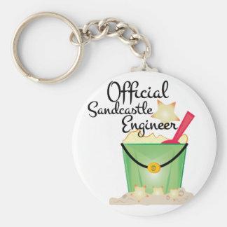 Sandcastle Engineer Key Ring